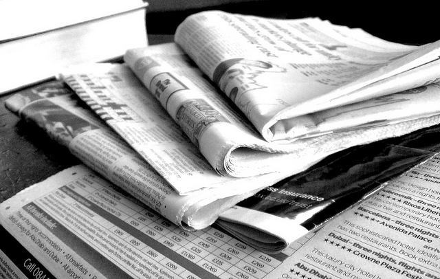 Newspapers, foto di Jon_s - Flickr.com.jpg